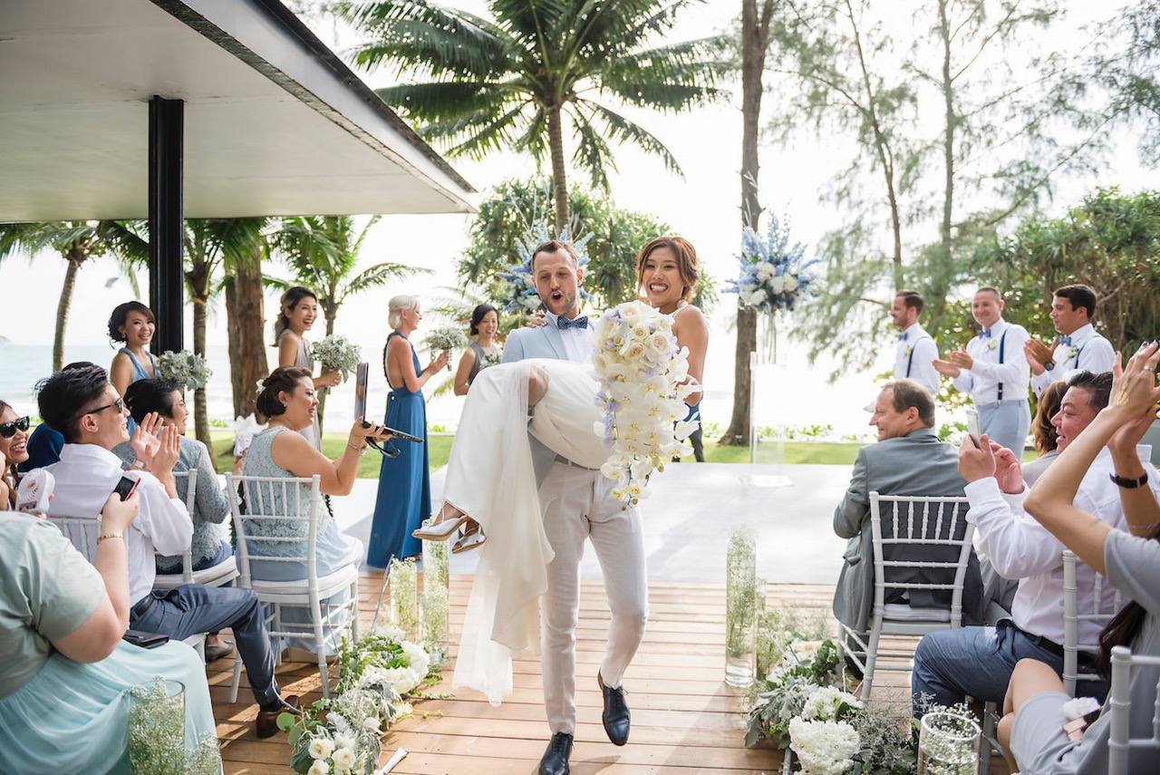 Karis and Francois - The Wedding Bliss Thailand