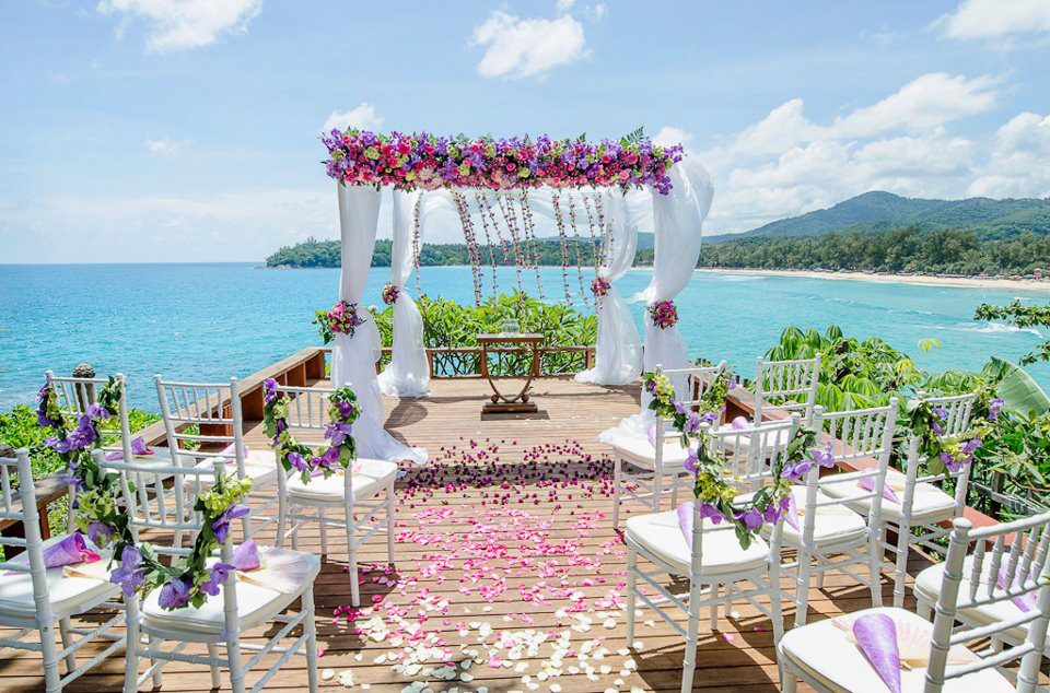 Tropical island wedding thailand the wedding bliss thailand for Honeymoon locations in california