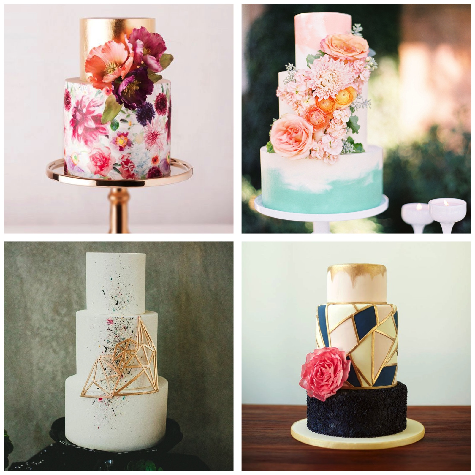 A Look into Wedding Cakes Trend in 2016 - The Wedding Bliss Thailand