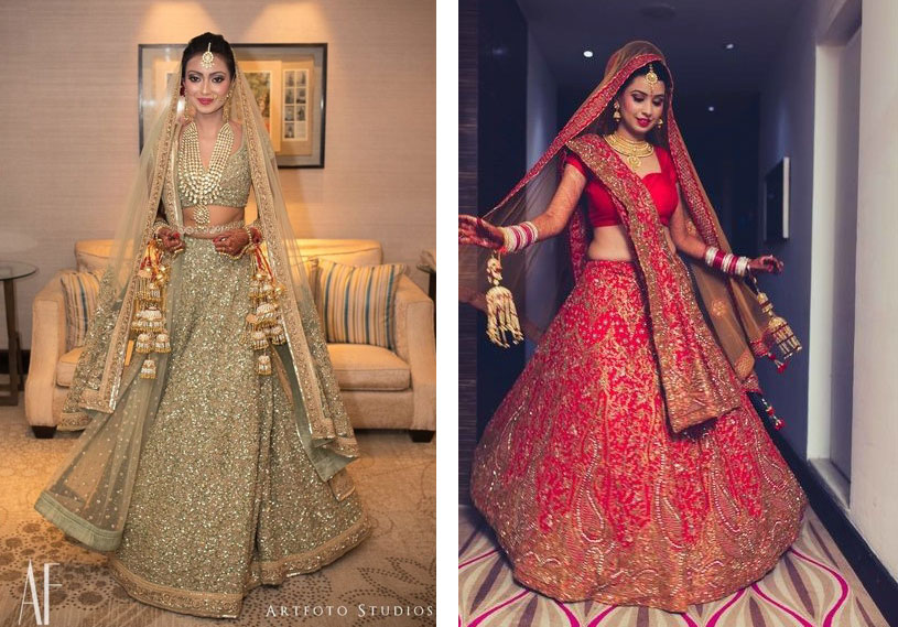 A-Showcase-of-Asia's-Most-Beautiful-Wedding-Dresses-India -- The Wedding Bliss Thailand