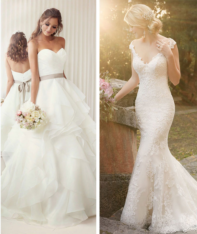 A showcase of asia 39 s most beautiful wedding dresses the for A pretty wedding dress