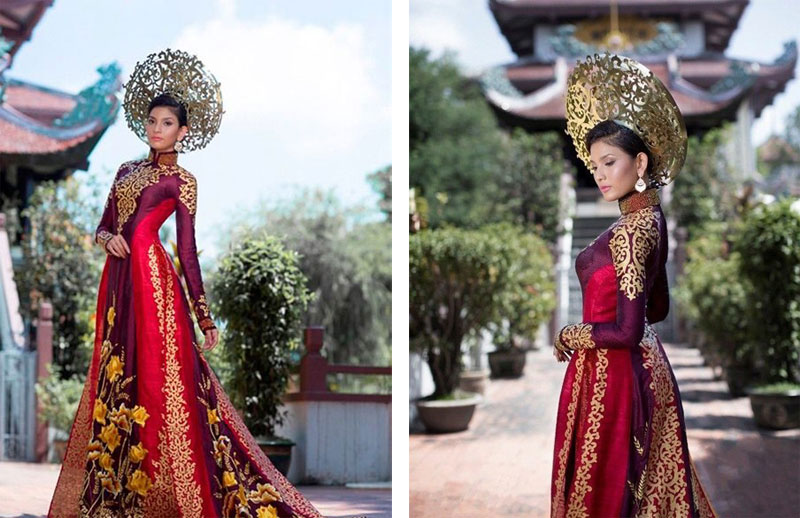 A Showcase of Asia\'s Most Beautiful Wedding Dresses - The Wedding ...