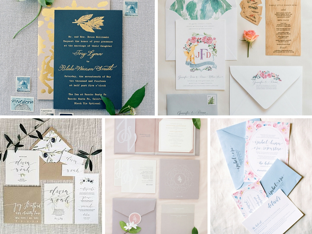 Invitation Suite and Wedding Stationery Guide - The Wedding Bliss ...