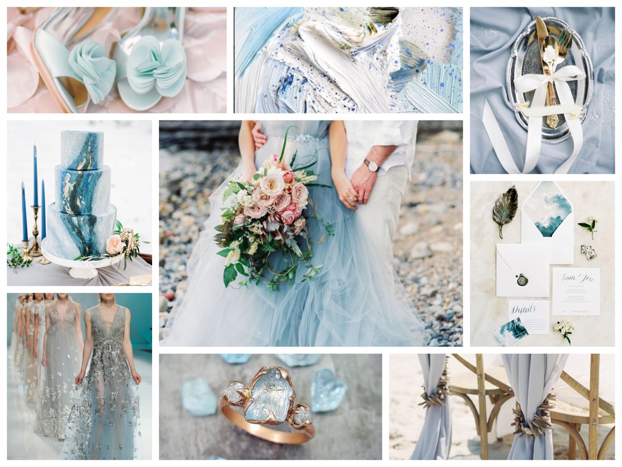 Moodboard #2: Crafted Gemstone Blue