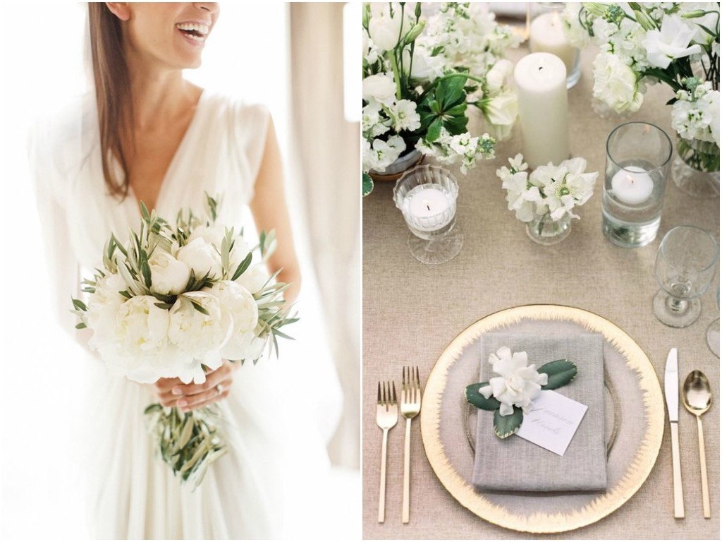 Choosing a color palette for your wedding common mistakes for Utensilios de mesa