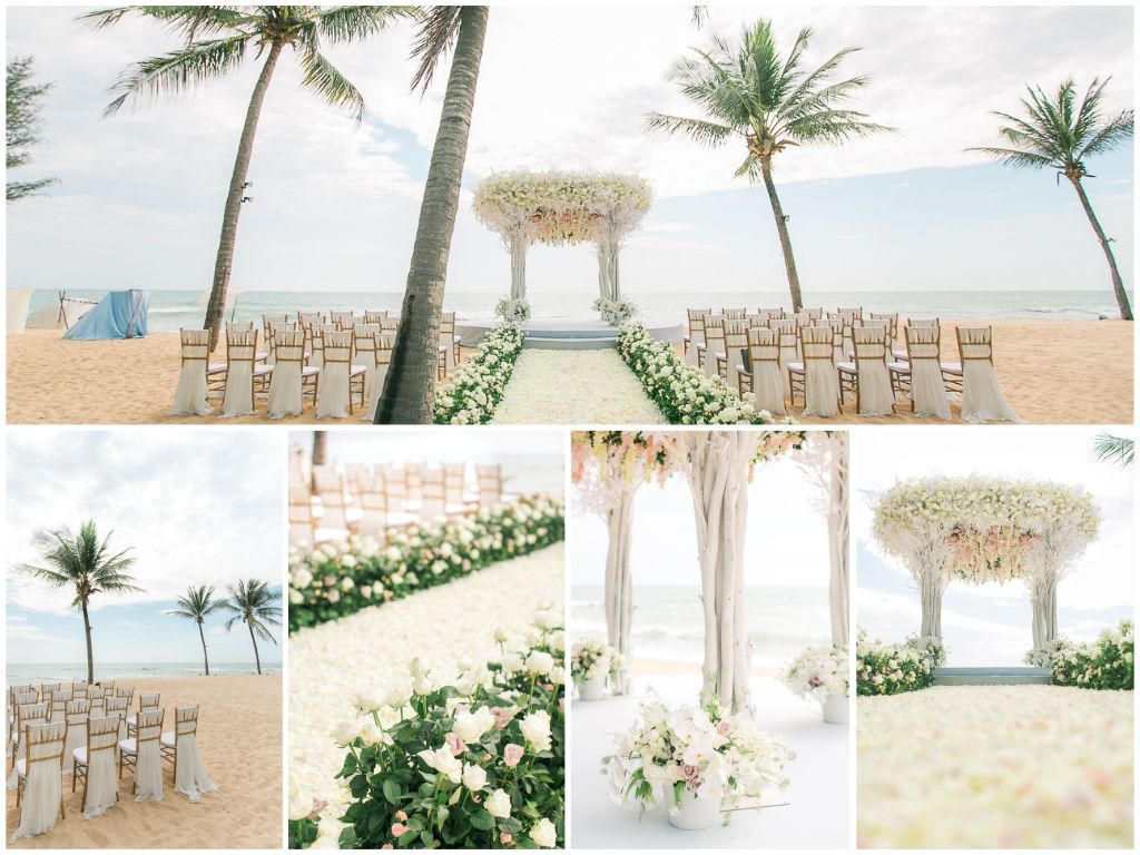 Destination Wedding In Phuket With Two Gorgeous Designs -- The Wedding Bliss Thailand 1