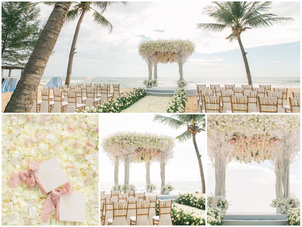 Destination Wedding In Phuket With Two Gorgeous Designs -- The Wedding Bliss Thailand 2