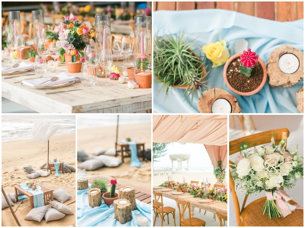 Destination Wedding In Phuket With Two Gorgeous Designs -- The Wedding Bliss Thailand 3